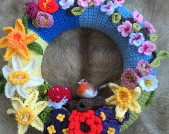Crochet Decorational Wreath