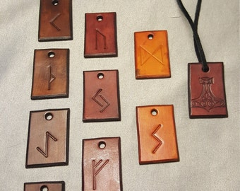 Norse & Rune Charms