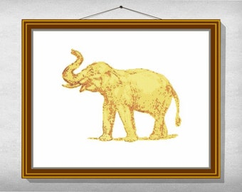 CROSS STITCH PATTERN Elephant