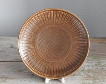 Scandinavian Vintage Plate Ceramic Salad Plate Modern Rustic Plate