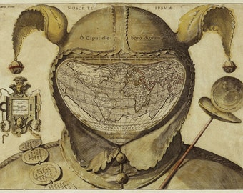 Foolscap Map
