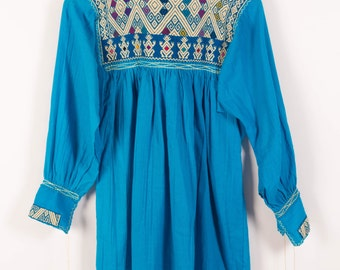 Chiapas Handmade Embroidered Blouse