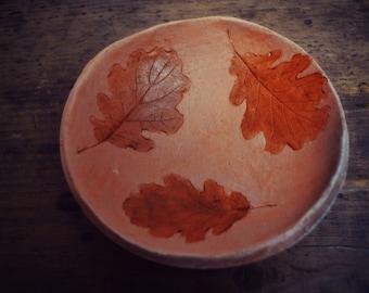 """Leafs"" ceramic bowl"