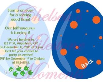 Dinosaur Egg Party Invitation