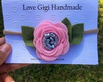 Single Rose Headband