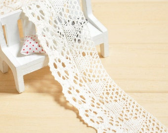 Beige Crochet Edging 5 meters