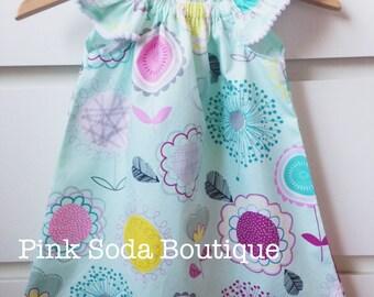 Girls/toddler flutter sleeve dress size 1