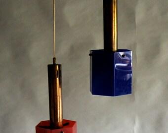 50 years of italian design lamps pair