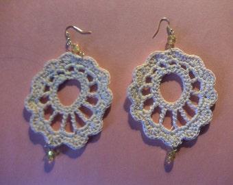 Handmade Crochet Leaf