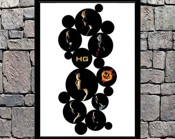 Hunger Games Bubbles - Tall; Greeting Cards, Prints, Posters