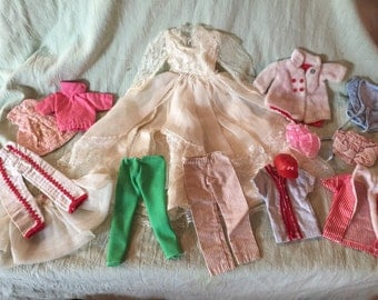 1973-1978 variety of barbie and ken clothes.