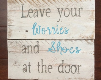 Worries at the door