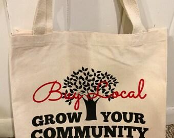 Buy Local Canvas Bag