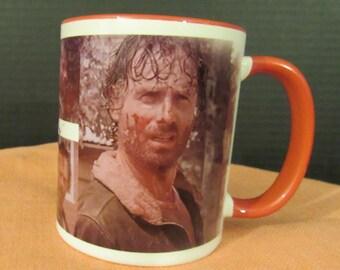 "Rick Grimes ""What?"" Mug"
