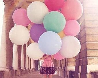 "3ft balloons, 36"" inch round balloon, Huge balloons, engagement decoration, wedding decoration, birthday decoration, Giant balloon"