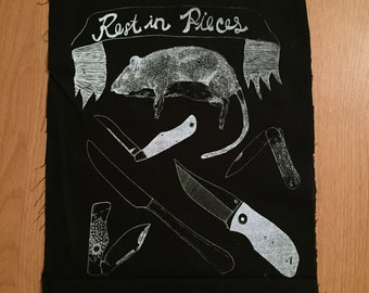 RIP Rat Backpatch