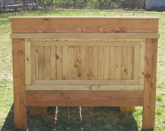 Country / Farm Style Headboard, Head Board, Bed
