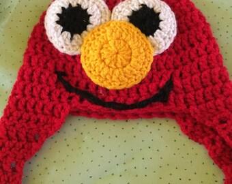 Elmo handknitted Hat