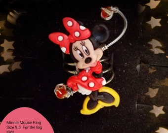 Minnie Mouse Ring for those that just don't want to grow up.