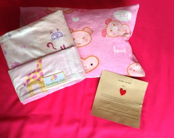 Pig & Friends Toddle Blanket + Pillow