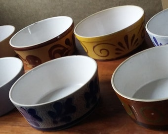 8 Bowls possibly French