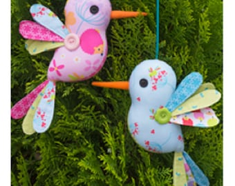 """Melly and Me """"Hum Along""""  Bird Craft/Sewing Pattern NIP"""