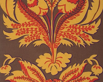 Westminster  Fabrics Brandon Mably Spring 2015  Brandons Brocade Brown Sateen