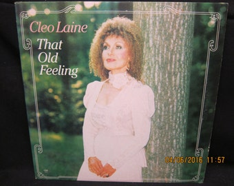 Cleo Laine That Old Feeling - CBS Records 1984