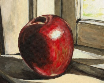 Apple WindowStill Life - Print