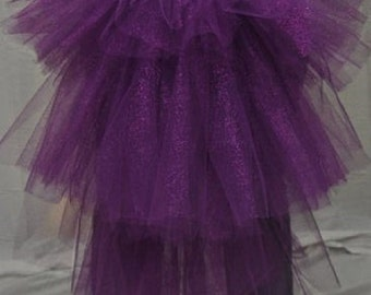 Purple Tutu Bustle Skirt - Available in all sizes and colors