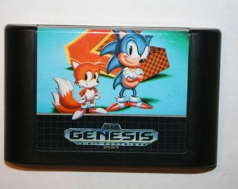 Sonic the Hedgehog 2 Sega Genesis Game