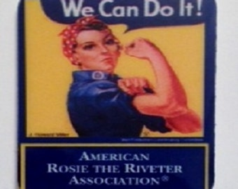 Rosie the Riveter Stamp Pin