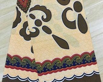 African print fabric 6 yards