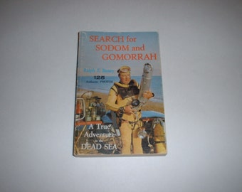 Search For Sodom And Gomorrah by Ralph Baney 1963 Dead Salt Sea, Bible Palestine