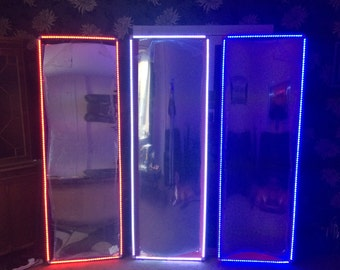 LED fairground mirrors