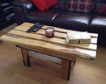 Small Coffee Table made with recycled pallet wood