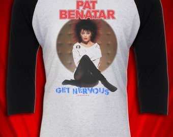 Pat Benatar Vintage Tour Tee T-shirt Jersey 1982