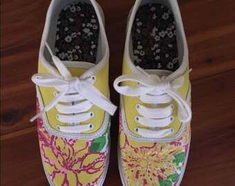 Lilly Pulitzer Painted Sneakers