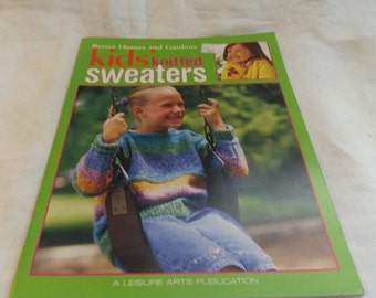 Knitting Patterns, Children's Sweaters, 8 designs, Better Homes and Garden  OOP