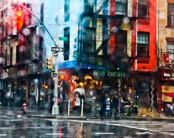 A Rainy day in the east village