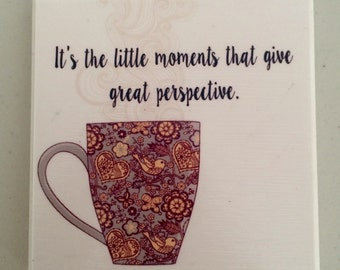 Little Moments Decorative tile/Coaster