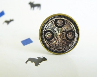 Dr. Who - Seal of Rassilon - Adjustable ring - Original gift