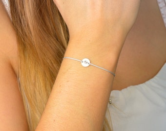 Customizable end bracelet 925 Silver Medal