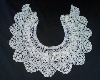 crochet collar handmade