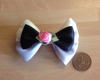 Briar Rose Sleeping Beauty mini hair bow
