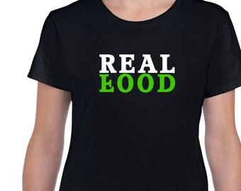 Real Food Vegan T-Shirt