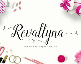 Revallyna Modern Calligraphy Typeface