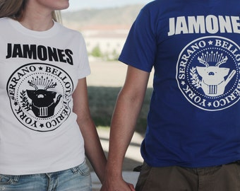 T-shirt female and male hams T-shirts