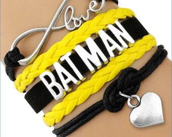 BATMAN Infinity Love Bracelet