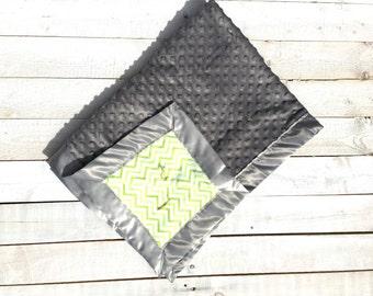 Soft & Cuddly Chevron Baby Blanket